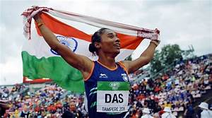WATCH: Hima Das makes India proud with historic gold medal ...