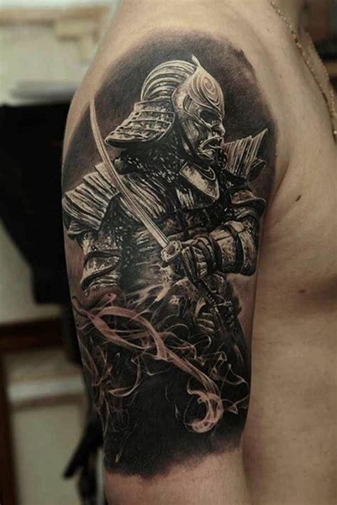 samurai warrior tattoo designs  men  women