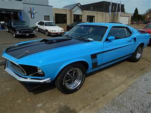 1969 Ford Mustang Fastback Boss 302 tribute # 681 - The Mustang Garage