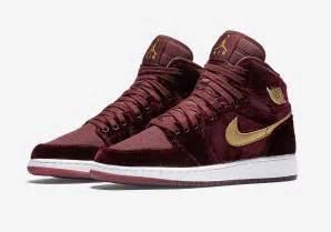 Official Images Air Jordan 1 High QuotVelvetquot SneakerWhorez