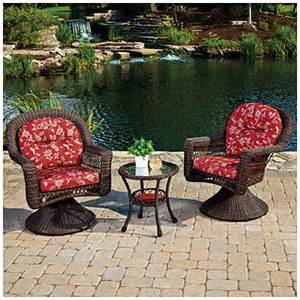 view wilson fisher 174 savannah resin wicker 3 piece