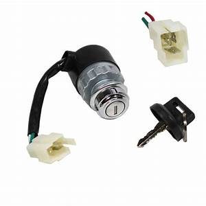 Standard Three Wire Ignition Key Switch Hammerhead 250cc Go Kart Cart