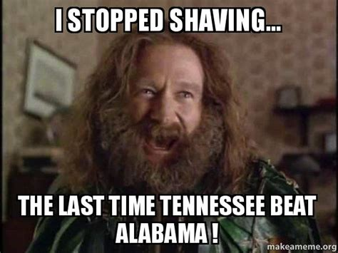 Tennessee Memes - the alabama tennessee memes are spreading and they are quite funny