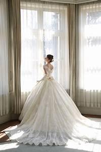gold ivory chiffon straps sweetheart tight bodice ballroom With ballroom gown wedding dress