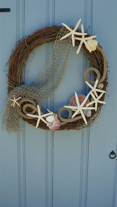 brilliant beach themed wreath ideas