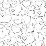 Coloring Hearts Lots Heart Printable Corazones Colorear Colorare Cuori Muchos Disegni Serca Collage Sheets Valentine Template Disegno Bff Tanti Adults sketch template