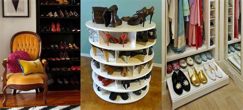 storing shoes ideas various shoe storage ideas quecasita