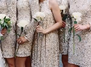 sparkly bridesmaid dresses sequin bridesmaid dresses your friends will adore weddingbells