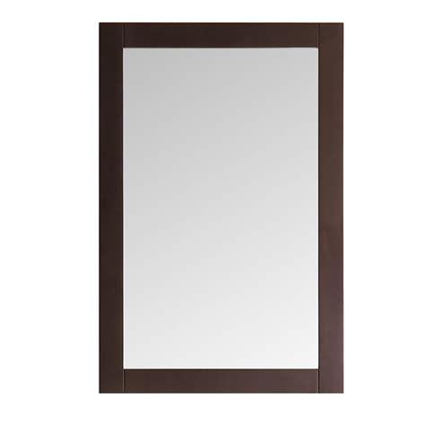 20 X 30 Bathroom Mirror by Fresca Niagara 20 In W X 30 In H Framed Wall Mirror In