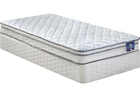 Serta Sertapedic Daviana Low Profile Twin Mattress Set