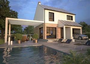 voir la fiche du modele mdf chevrefeuille With maison de la fenetre 9 maison france confort 1er constructeur de maisons