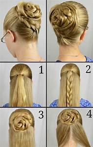 Easy Updos For Long Hair Step By Step To Do At Home In English 2018