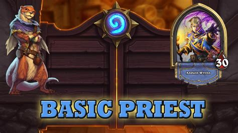 Priest Deck Hearthstone Beginner by Hearthstone Deck Guide Starter Priest Basic Cards Only