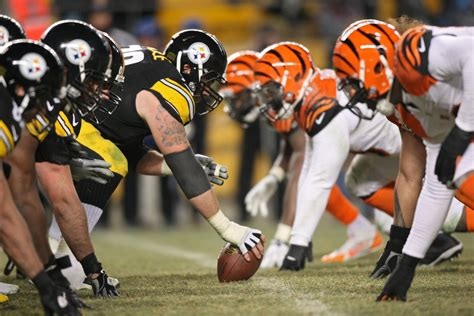 bengals  steelers lead    important week