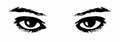 Eye Clip Clipart Eyes Svg Cartoon Female