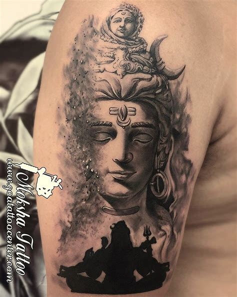 shiva tattoo   mukesh waghela  moksha tattoo studio goa tattoo center