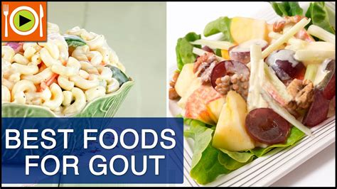 gout foods recipes healthy treat