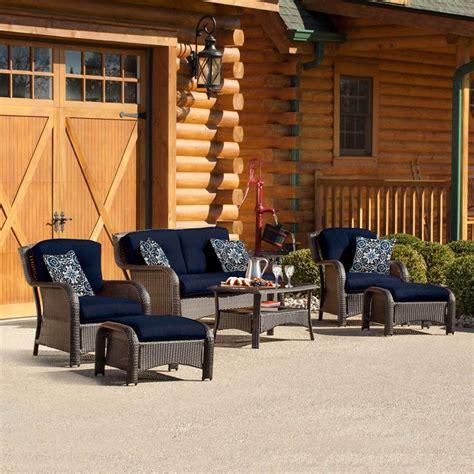 shop hanover outdoor furniture strathmere 6 wicker
