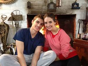 Dave Franco and Alison Brie stay warm by the fire on a 76 ...