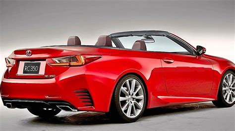 lexus convertible 2015 2015 lexus rc convertible youtube