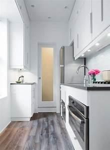 amenager une petite cuisine 40 idees pour le design With amenager une toute petite cuisine