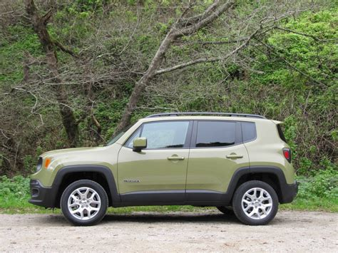 green jeep renegade 2015 jeep renegade first drive