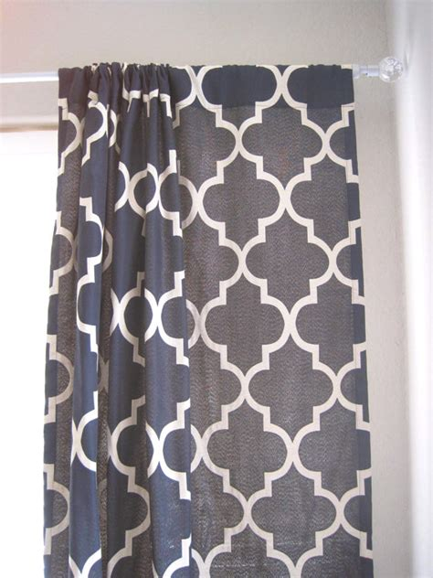 moroccan lattice curtain panels set of 3 108 drapery panels moroccan lattice