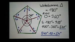Fünfeck Berechnen : pentagon berechnen f nfeck ausrechnen youtube ~ Themetempest.com Abrechnung