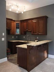 1000 ideas about small basement kitchen on pinterest for Kitchen colors with white cabinets with art for large wall spaces
