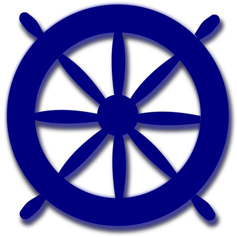 Sailboat Wheel Wall Decor by Vector Gratis De Direcci 243 N Navegaci 243 N Azul Imagen