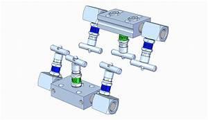 Sh3 3-valve Manifold Assembly