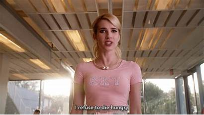 Emma Roberts Scream Queens Die Hungry Refuse