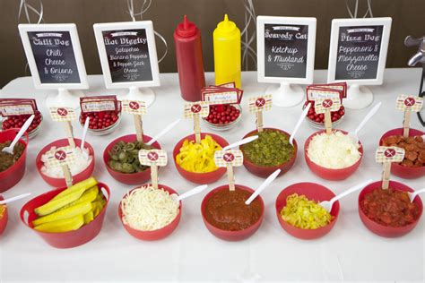 Hot Diggity Dog Hot Dog Buffet Ideas Hotdog Happydot