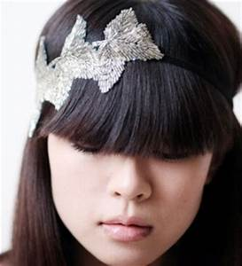 Accessoires Cheveux Courts : comment porter un headband avec frange accessoires pour cheveux longs et courts ~ Preciouscoupons.com Idées de Décoration