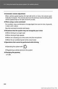 Toyota Highlander Hybrid 2013 Xu50    3 G Owners Manual