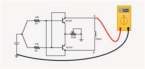 Simple Inductance Meter Circuit Homemade
