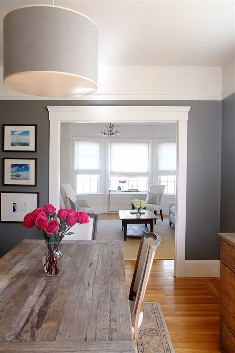 grey paint color for dining room benjamin pikes peak gray living room benjamin