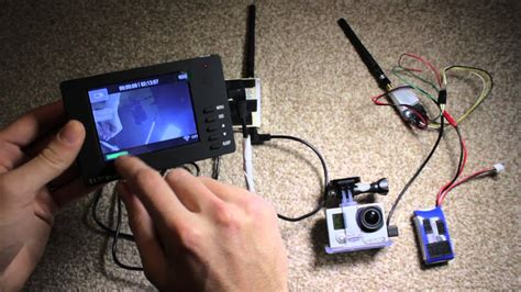 realtime video fpv  gopro youtube