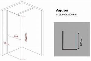 200 Mm En Cm : 10 mm duschwand aquos 60 x 200 cm glasdeals ~ Dailycaller-alerts.com Idées de Décoration