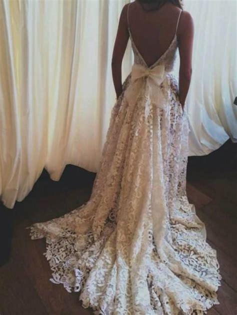 backless wedding dress lace lace wedding dress backless wedding dress boho wedding