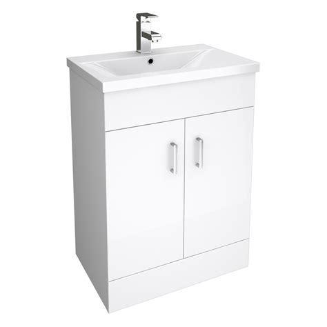 White Bathroom Drawer Unit by White Bathroom Cloakroom Storage Vanity Unit Cabinet