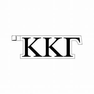 greek letters kappa kappa gamma plastic greek letter With plastic greek letters