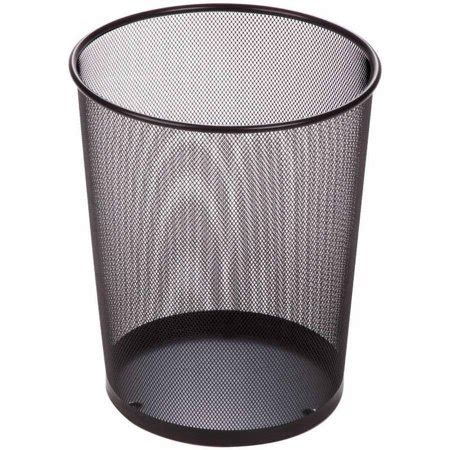 honey can do 4 75 gallon mesh metal trash basket