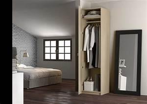 Armoire Colonne Chambre : armoire penderie sur mesure de la place du design ~ Melissatoandfro.com Idées de Décoration