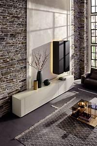 Hülsta Gentis Lowboard : h lsta tv meubel en kasten voor een moderne living ~ Buech-reservation.com Haus und Dekorationen