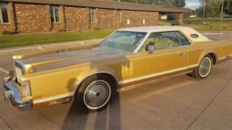 solid gold classic  lincoln continental mark