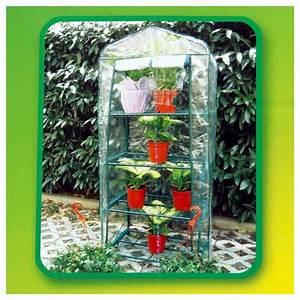 Mini Serre Jardin : mini serre de jardin 4 tag res ~ Premium-room.com Idées de Décoration