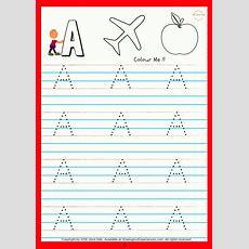Soe Store Kids Capital Alphabets Writing Activity Book For Kids Preschool Worksheets For Kids (3