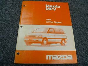 1989 Mazda Mpv Minivan Electrical Wiring Diagrams Manual
