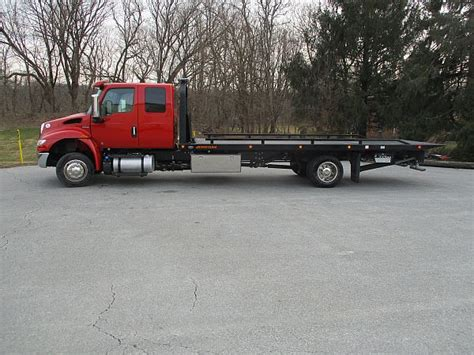 2019 International Mv Extended Cab Jerr-dan 22' Steel